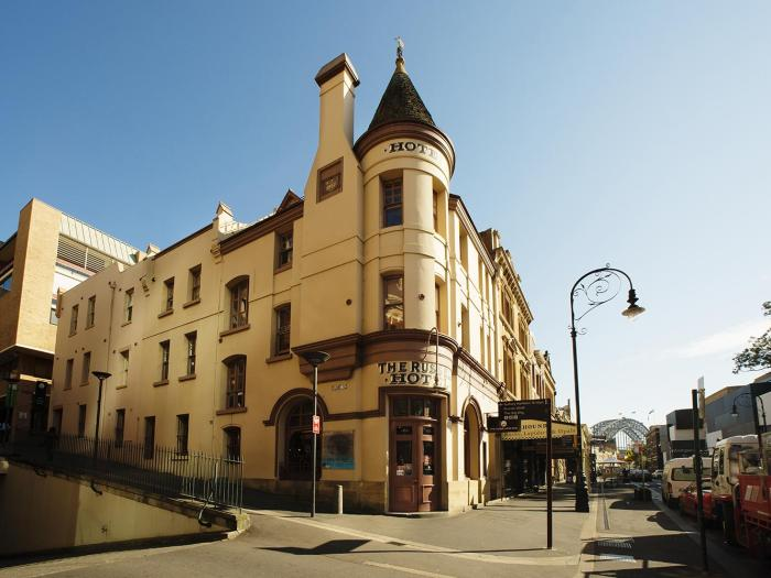 The Russell Hotel in The Rocks